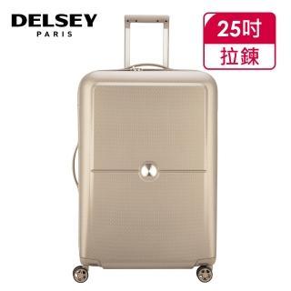 【DELSEY 法國大使】TURENNE-25吋旅行箱-香檳金(00162182017)