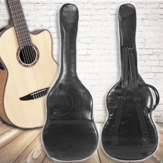 【美佳音樂】台灣製造 仿皮/厚棉/雙肩背帶/防水 高級古典吉他袋(38-39吋通用)