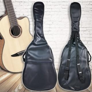 【美佳音樂】台灣製造 仿皮/厚棉/雙肩背帶/防水 高級電吉他袋(電吉他皆通用)