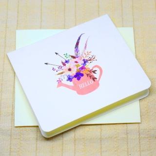【輕靈之森】輕靈卡片•花藝系列•問候卡(卡片、花藝)