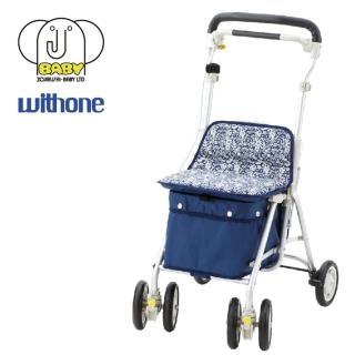 【象印】Light mini M 步行車藍花園