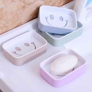 微笑雙層瀝水肥皂盒(2入)