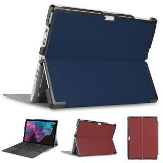 微軟 Microsoft Surface Pro6 12.3吋 專用可裝鍵盤平板電腦皮套(貼心設計!!可放鍵盤 方便攜帶 保護套)