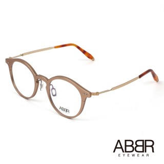 【ABBR】北歐瑞典設計新一代鋁合金光學眼鏡(玫瑰金 NP-01-003-Z18-12HR)