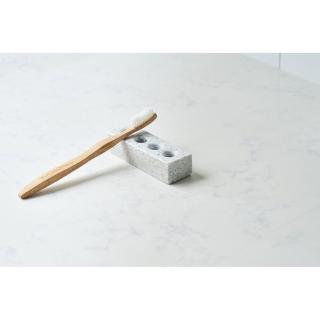 【TZULAi 厝內】天然磨石衛浴盥洗組_牙刷架