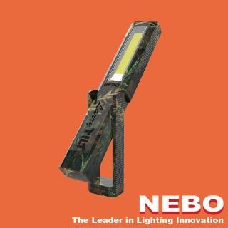 【NEBO】Larry Tilt任意傾斜COB LED手電筒-軍裝迷彩(手電筒)