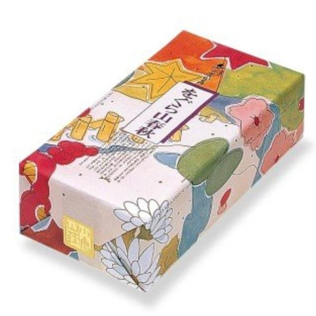 【小倉山莊】山春秋化妝箱仙貝禮盒8種類11袋入(中秋送禮首選)