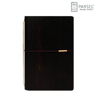 【PARSEC】樹革正黑檀手帳