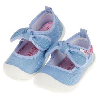 【布布童鞋】HelloKItty凱蒂貓亮麗蝴蝶結水色寶寶休閒鞋(C9K803M)