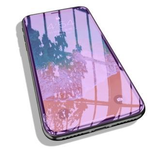 iPhone 3D抗藍光全滿版鋼化保護貼(iX XS MAX XR i7 i8 i7+ i8+ 抗藍光 護眼 保護貼 玻璃貼)