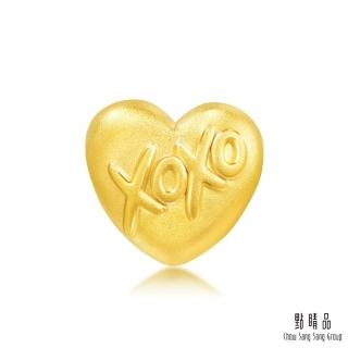 【點睛品】Charme XOXO親親抱抱 黃金串珠