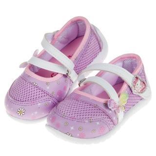 【布布童鞋】HelloKItty凱蒂貓春彩蝴蝶紫色透氣兒童休閒鞋(C9F805F)