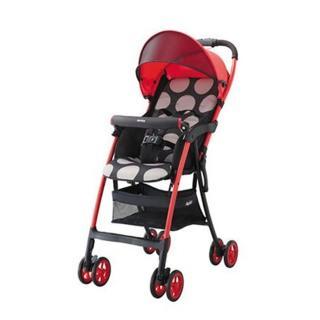 【Aprica 愛普力卡】最輕量單向四輪嬰幼兒手推車 Magical Air S 高視野(92555/92557)