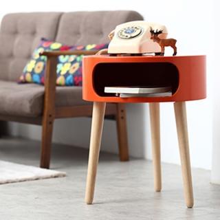 【班尼斯】蕾布爾 多用途邊桌/圓桌/茶几/電話桌/床頭櫃(茶几)