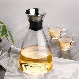 【極簡美學】經典 北歐風 高質感 流線型 SOLO 耐熱 玻璃 冷水壺(1000ml)