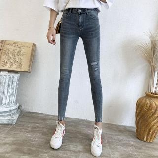 【WHATDAY】好型好搭帥氣牛仔褲S-XL
