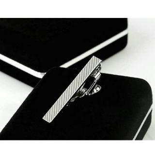 【拉福】領帶夾窄版領帶夾窄領夾密斜(4cm)