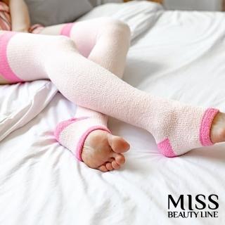 【MISS BEAUTY LINE】韓國原廠遠紅外線/陶瓷纖維美雕襪(夜間美雕暖香睡眠型)