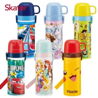 【Skater】不鏽鋼直飲保溫水壺(附杯蓋組)