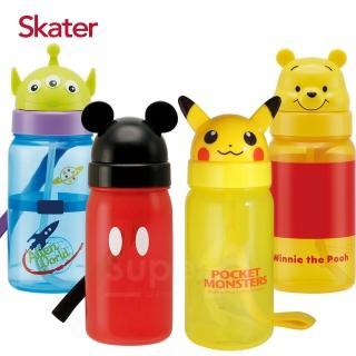 【Skater】造型吸管水壺350ml(多款可選)