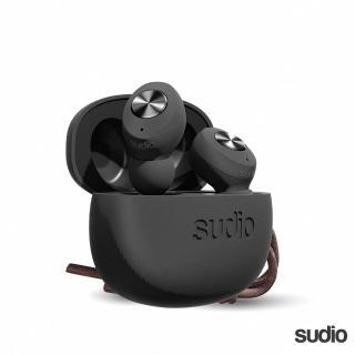 【Sudio】瑞典設計 真 無線藍牙耳機(Tolv / 黑)