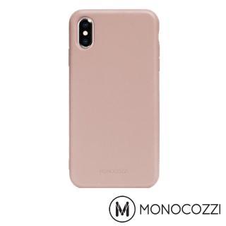 【MONOCOZZI】Lucid Plus iPhone XS 耐衝擊手機保護殼(乾燥玫瑰)