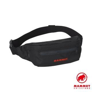 【Mammut 長毛象】Classic Bumbag 多功能隨身腰包 1L 黑色 #2520-00470(多功能隨身腰包)
