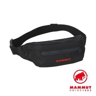 【Mammut 長毛象】Classic Bumbag 多功能隨身腰包 1.5L 黑色 #2520-00470(多功能隨身腰包)