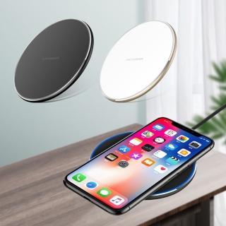 【DR.MANGO 芒果科技】QI超大效能手機無線充電板(黑/白/布紋)