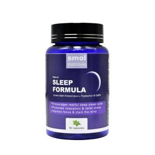 【SMOL莫斯】舒壓助眠草本複方膠囊 60顆(放鬆心情、幫助入睡好幫手)