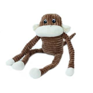 【ZippyPaws】就是愛吵鬧-大棕猴史賓賽  有聲玩具(寵物玩具 有聲玩具 益智玩具)