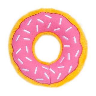 【ZippyPaws】美味啾關係-草莓甜甜圈  有聲玩具(寵物玩具 有聲玩具)