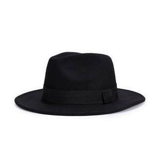 【米蘭精品】爵士帽禮帽(純色復古優雅歐式風格情人節生日禮物女帽子13色71k86)
