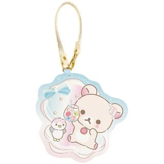【San-X】懶妹的珍珠貝殼海系列皮革車票夾(拉拉熊)