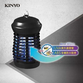 【KINYO】輕巧UVA紫外線燈管電擊式捕蚊燈(捕蚊燈)