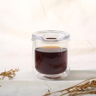 【Simple Real】TAMAGO雙層玻璃杯(330ml)
