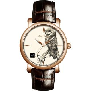 【梵谷Van Gogh Swiss Watch】梵谷經典名畫男錶(Gent 11-1 貓頭鷹)