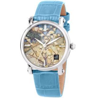 【梵谷Van Gogh Swiss Watch】梵谷經典名畫女錶(Lady 18 樹景)