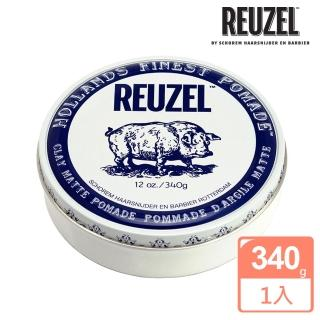 【REUZEL】Clay Matte Pomade 白豬強力黏土級水性髮泥(340g)