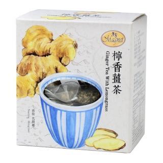 【曼寧】台灣檸香薑茶3gx15入輕巧盒(台灣老薑、促進新陳代謝、薑茶)