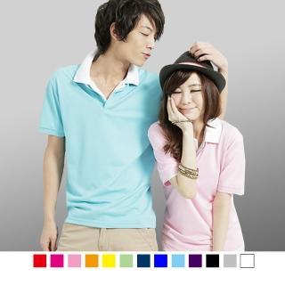 【男人幫】立領大東紡織布料吸濕排汗素領時尚POLO衫(F0150)