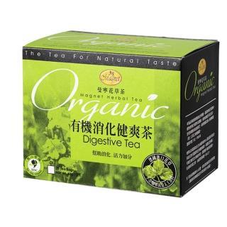 【曼寧】有機消化健爽茶包2gx20入(有機花草茶、康福茶、薄荷)