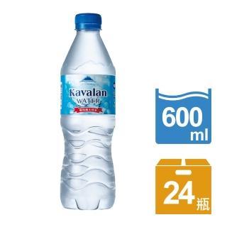 【金車】噶瑪蘭天然水600ml-24瓶/箱