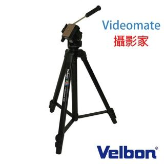 【Velbon】videomate 攝影家 438 錄影 油壓 單手把 把手 三腳架(附腳架袋 代理商公司貨)