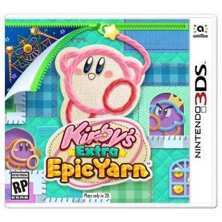 【Nintendo 任天堂】毛線卡比 Plus(3DS軟體)