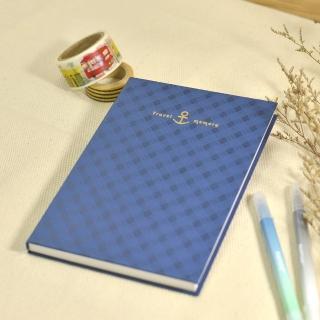 【Conifer綠的事務用品】旅行記憶。32K軟背精裝橫線筆記本(手帳、萬用筆記本、精裝筆記本)