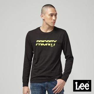 【Lee】Lee PRIORITY長袖圓領TEE/RG黑(黑)