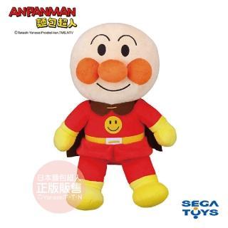 【ANPANMAN 麵包超人】蓬蓬微笑布偶S-PLUS 麵包超人(1.5歲-)