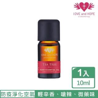 【登琪爾】愛與希望LOVE&HOPE 茶樹單方精油Tea Tree(10ml)