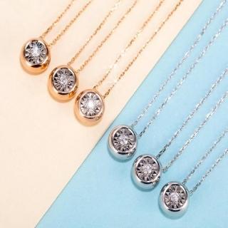 【光彩鑽石】18K金鑽石項鍊(北極星)